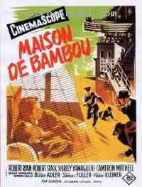 Poster Maison de bambou 8504