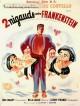 jaquette pour Deux nigauds contre Frankenstein