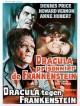 jaquette pour Dracula prisonnier de Frankenstein