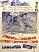 jaquette pour Abbott et Costello rencontrent le capitaine Kidd