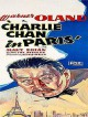 jaquette pour Charlie Chan � Paris