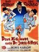 jaquette pour Deux nigauds contre le docteur Jekyll