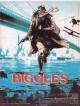 jaquette pour Biggles, � travers le temps