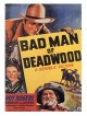 jaquette pour Bad man of Deadwood