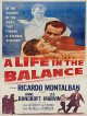 jaquette pour A life in the balance