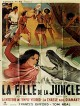 jaquette pour La Fille de la jungle (le film)