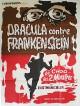 jaquette pour Dracula contre Frankenstein