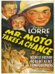 jaquette pour Mr. Moto court sa chance