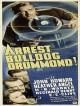 jaquette pour Arrest Bulldog Drummond