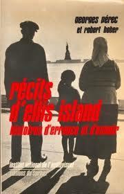 Georges Perec Ellis Island Pdf