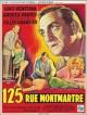 jaquette pour 125, rue Montmartre