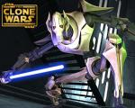 wallpapers Star Wars : La guerre des clones