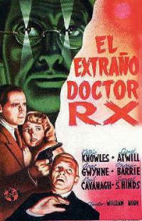 affiche  The Strange case of Doctor Rx 347809