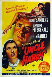 Poster The Strange affair of uncle Harry 354939