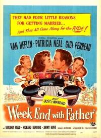 affiche  Week end with father 360981