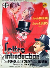 affiche  Lettre d'introduction 361217