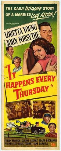 affiche  It happens every Thursday 363015