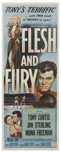 affiche  Flesh and fury 363018