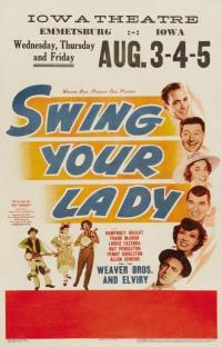 affiche  Swing your lady 366290