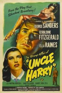 affiche  The Strange affair of uncle Harry 367162