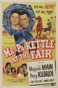 affiche  Ma and Pa Kettle at the fair 369704