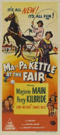 affiche  Ma and Pa Kettle at the fair 369706