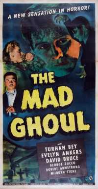 affiche  The Mad Ghoul 373787