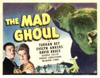 affiche  The Mad Ghoul 373788