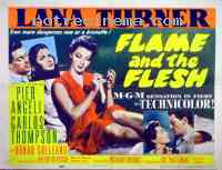 affiche  Flame and the Flesh 380446