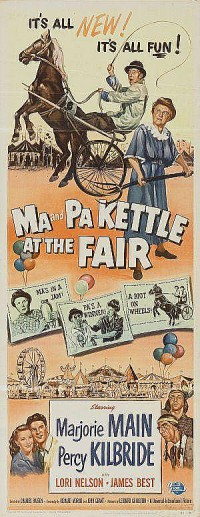 Poster Ma and Pa Kettle at the fair 385689