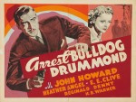 wallpapers Arrest Bulldog Drummond