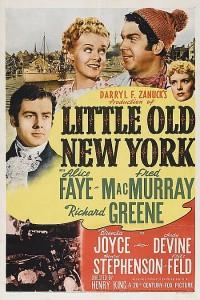 affiche  Little old New York 391245