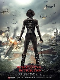 affiche  Resident Evil : Retribution 395454