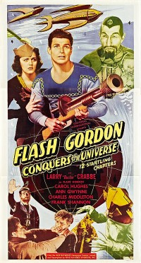 Poster Flash Gordon conquers the universe 404729