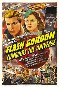 affiche  Flash Gordon conquers the universe 404730