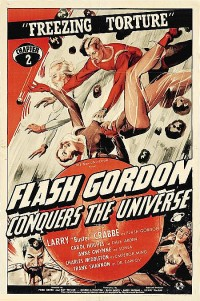 affiche  Flash Gordon conquers the universe 404731