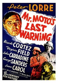 affiche  Mr. Moto's last warning 404890