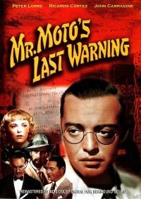 Poster Mr. Moto's last warning 404892