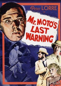 affiche  Mr. Moto's last warning 404893