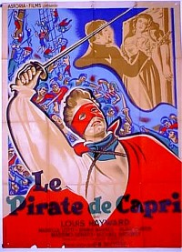 Poster Le Pirate de Capri 466846