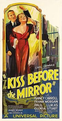 Poster Le baiser devant le miroir 472401