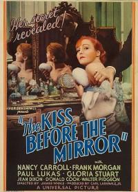 affiche  Le baiser devant le miroir 472402