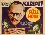 wallpapers The Fatal hour