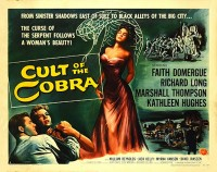Poster Cult of the Cobra 490523
