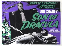 affiche  Son of Dracula 510557