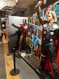 Statues Comic Con Paris 2016