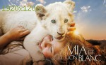 wallpapers Mia et le lion blanc