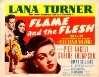 Poster Flame and the Flesh 33145