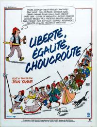 Poster Liberté, Egalité, Choucroute 31932