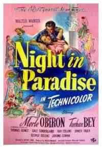 affiche  A Night in Paradise 100084